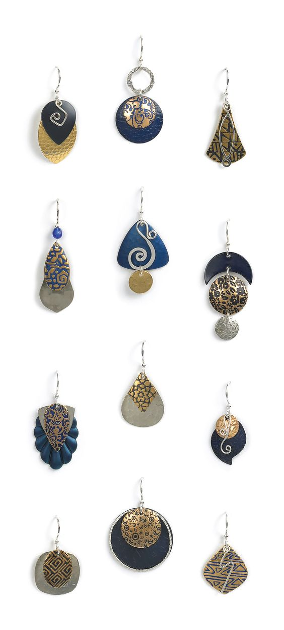 Sapphire from Jody Coyote. Jody Coyote are my favorite earrings.