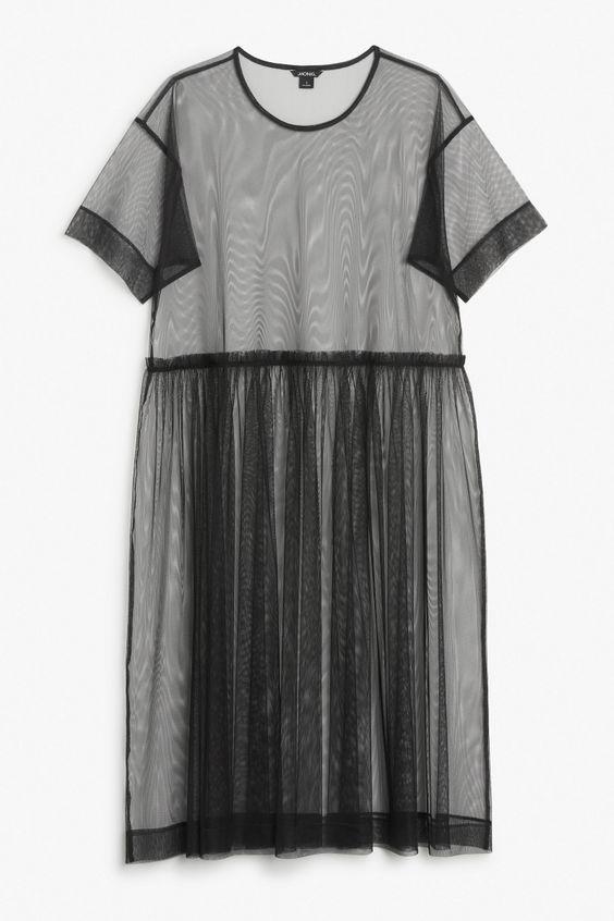 Mesh dress: