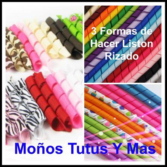 COMO HACER LISTON RIZADO Horno y Microondas KORKER RIBBON Made in the Ov...