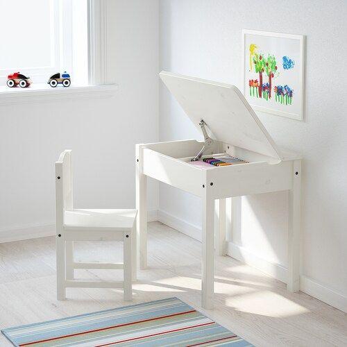 幼児期の子供におすすめ!IKEAの木製デスクSUNDVIKは収納付きで便利