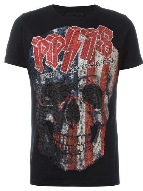 """Comprar Philipp Plein camiseta """"Philipp Tour"""" en Le Marché Aux Puces from the world's best independent boutiques at farfetch.com. Descubre 400 boutiques en 1 sola dirección."""