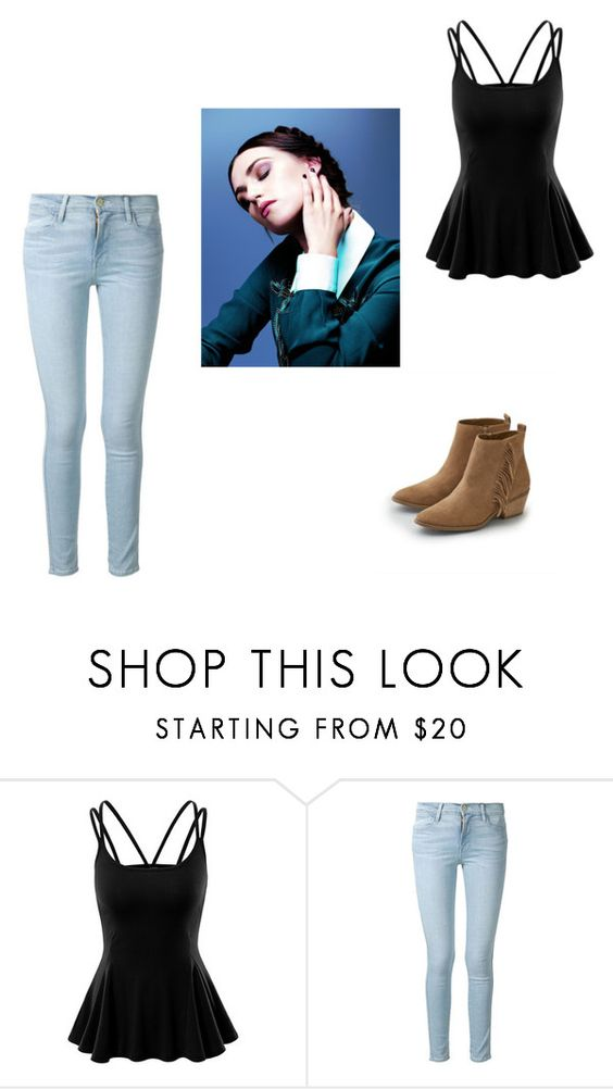 """""""Viviana's Outfit ( """"TWS: Let Yourself Go Wild"""" Chapter 10: The Tell Part II )"""" by hopevainproductions ❤ liked on Polyvore featuring Doublju, Frame Denim, American Eagle Outfitters, TheWildSeries, LetYourselfGoWild, tws and HopeVainProductions"""