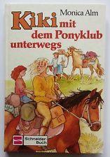Kiki avec le ponyclub en route de Monica ALM (lié, 1986)