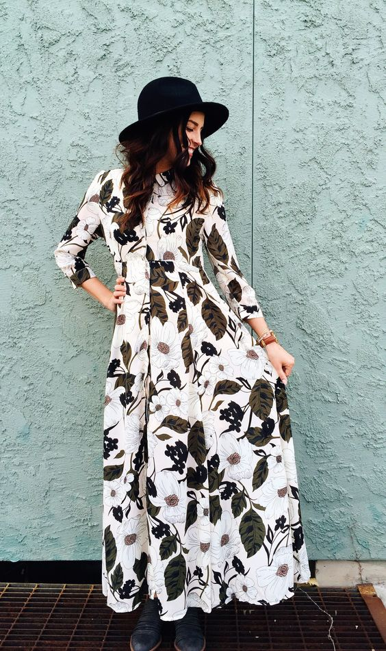 dreamy floral maxi dress from ROOLEE