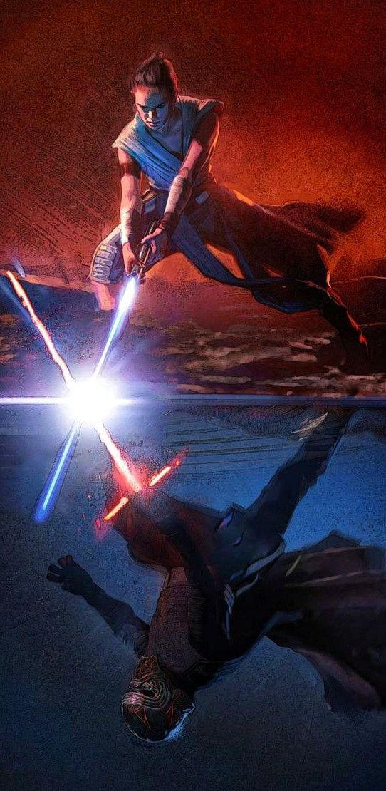 Star Wars Rise Of Skywalker Lightsaber Duel Rey Kylo Ren Ben Solo 18 9 Wallpaper Mobile Wallpaper Star Wars Wallpaper Rey Star Wars Star Wars History