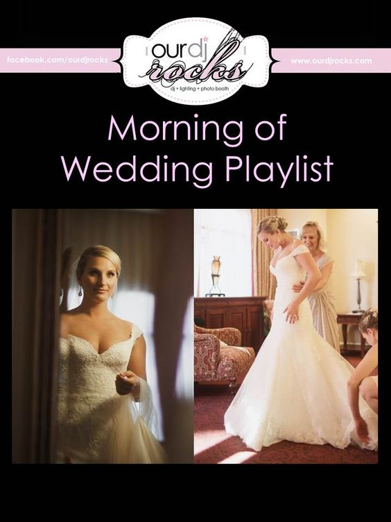 fun playlist for weddings