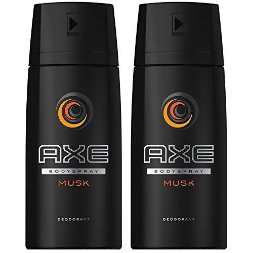 Axe Déodorant Homme Spray Musk 150ml – Lot de 2