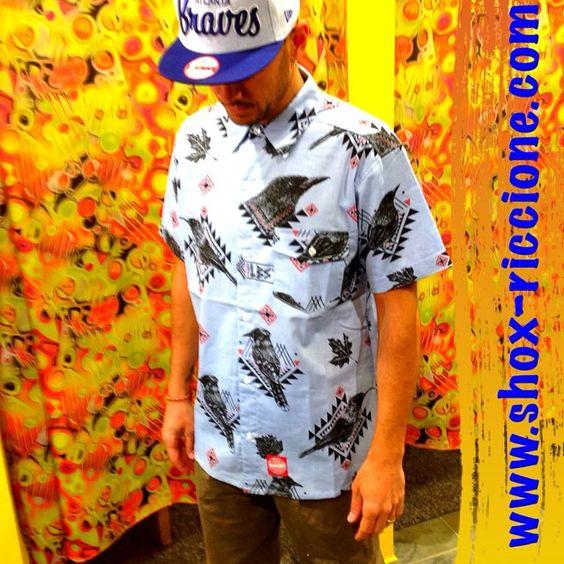 ***LOBSTER BIRD SHIRT...NEW ENTRY!!! venite a trovarci allo SHOX urban clothing di viale dante 251 Riccione APERTI tutti i giorni anche la DOMENICA POMERIGGIO !per info e vendita contattateci su FB: @ SHOX URBAN CLOTHING ,spedizione €5-->free for order over €50!!! #camicia #LOBSTER #2015 #SHOX #NEWENTRY #comevuoitu #sartoriainterna #fashion #spring #fresh #streetwear #life #esclusivo #nuoviarrivi  #swag  #solodanoi  #unici #men #woman