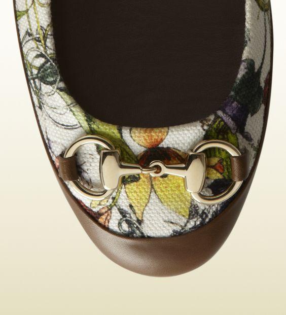 bailarinas carlie de loneta flora con horsebit