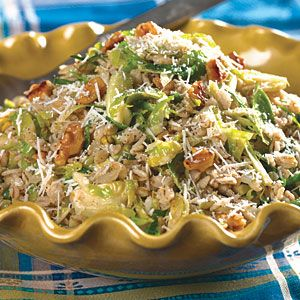 Barley and Brussels Sprouts Recipe | MyRecipes.com