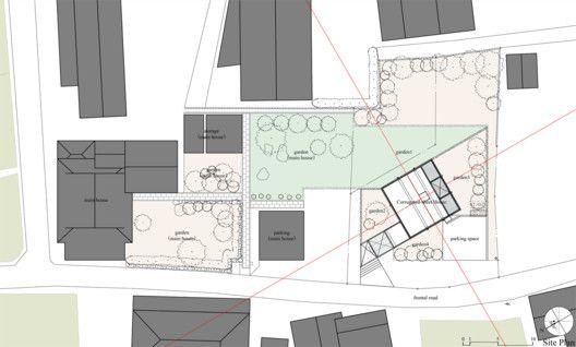Corrugated Sheet House Site Plan
