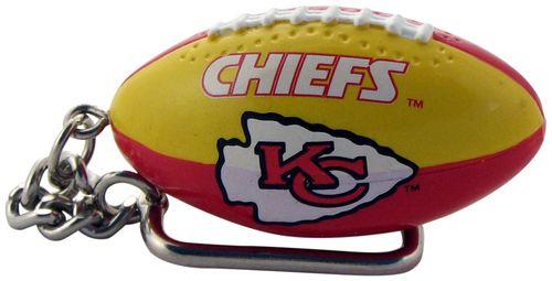 Kansas City Chiefs Football Keychain