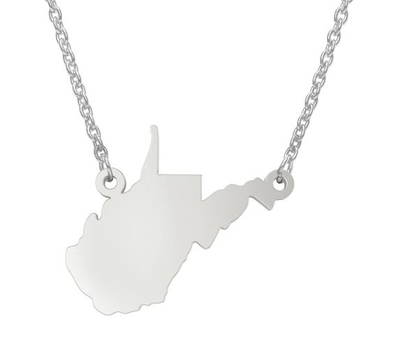 State Pendant Necklace, Sterling Silver available on QVC.com