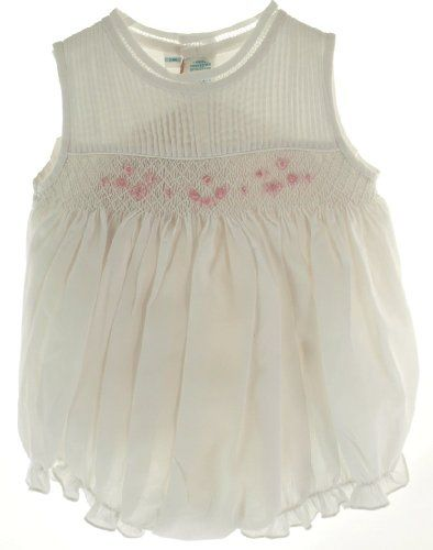 Feltman Brothers Feltman Brother Baby Girls White Smocked Bubble Outfit (6M) Feltman Brothers,http://www.amazon.com/dp/B008EK25JC/ref=cm_sw_r_pi_dp_EwNJsb09SHWYSB7D