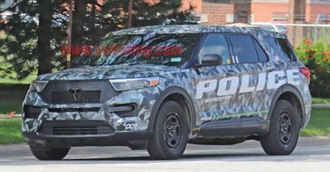 2020 Ford Explorer Police Interceptor Hybrid Apprehended