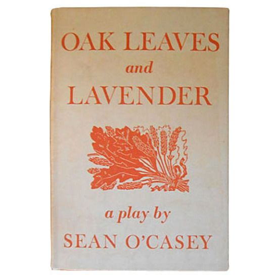 Sean O'Casey Oak Leaves, 1st Ed #huntersalley