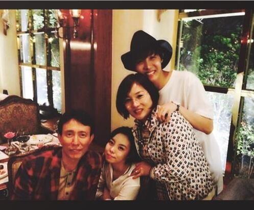 J-Hope & Family
