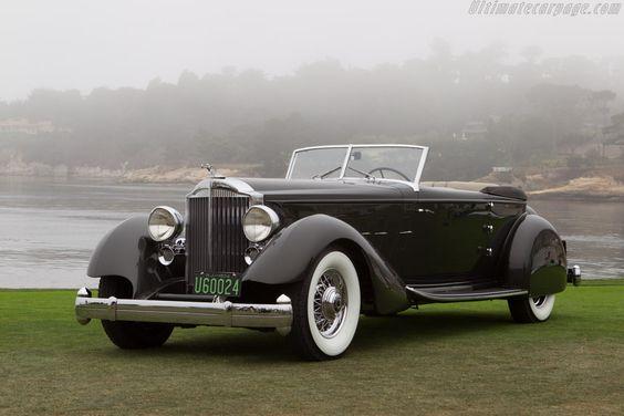 1934 Packard 1108 Twelve Dietrich Convertible Victoria (s/n 1108-65 - 2013 Pebble Beach Concours d'Elegance)