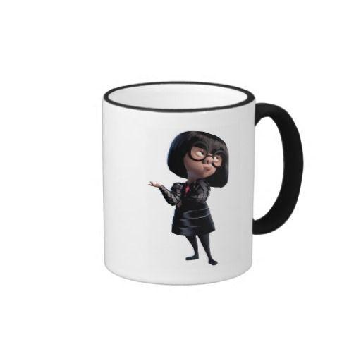 Incredible's Edna Mode Disney Ringer Mug