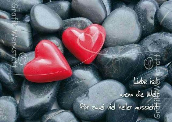 Liebe ist wenn die Welt für zwei viel heller aussieht ❤