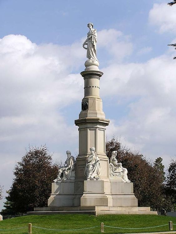 the Soldier's National Monument at Gettysburg