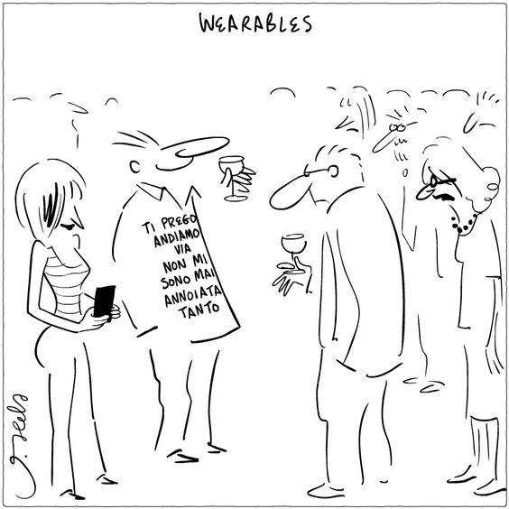 Tecnologia da indossare. :) #JoshuaHeld #wearabletechnology #wearables #funny