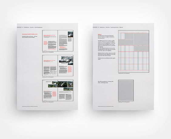 Raster, Layout-Prinzip, Corporate Design Manual Goldschmidt-Thermit Group.