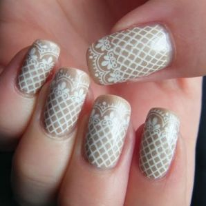 Wedding Nail Ideas for Brides #manicure #nails #beauty