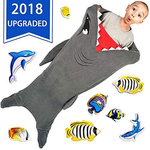 Cozy Shark Tails Blanket By Cozybomb For Kids Smooth On Https Www Amazon Com Dp B077l2dqz Knitted Mermaid Tail Blanket Shark Blankets Shark Tail Blanket