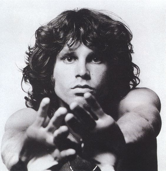 Jim Morrison. His trippy, philosophical lyricism and darkly intriguing voice have inspired many of my works.
