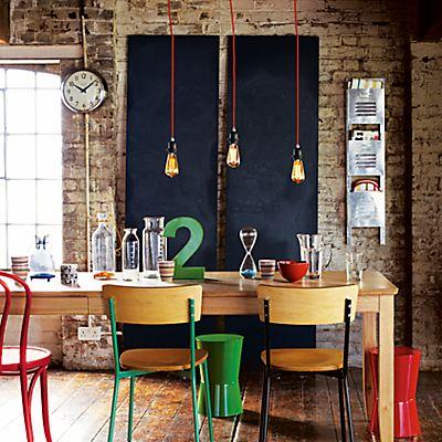 Buy Calex Decorative Bulb, Goldline Rustic, 35W ES online at JohnLewis.com - John Lewis