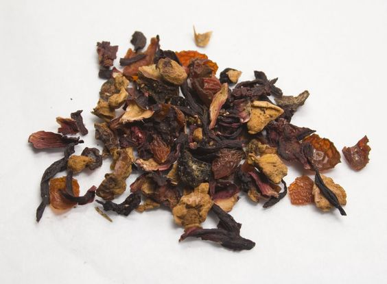 Organic Cranberry Apple Herbal Loose Leaf Tea