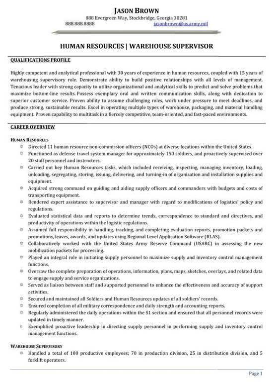 ... resume and more human resources resume warehouses student centered