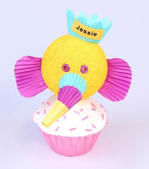 Elephant Cupcake Topper