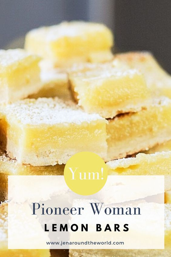 Pioneer Woman Lemon Bars