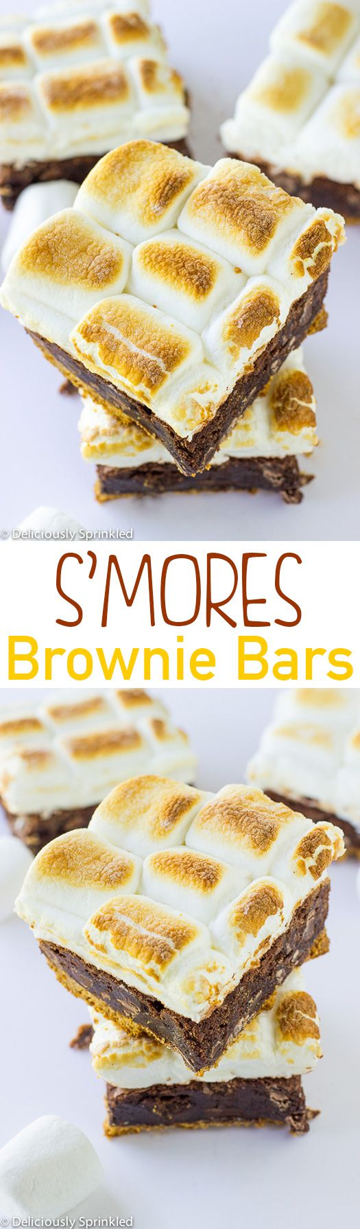 S'mores Brownie Bars | Recipe | Campfires, Brownies and Bar