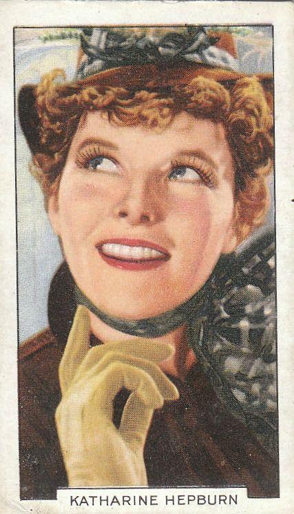 Gallaher Cigarettes, Film Stars, 1935.