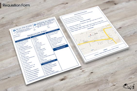 RequisitionForm Design | HealthCare-Brand Identity Pack ...