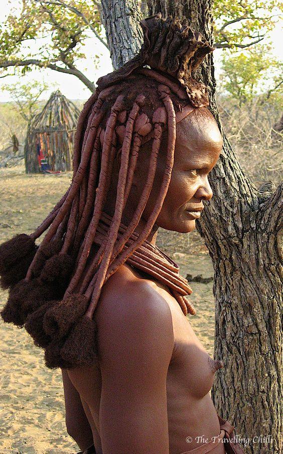 Himba woman in #Namibia #Himba #Africa