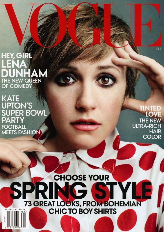 Lena Dunham Vogue (US) February, 2014