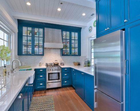 101 Beautiful Beach Cottage Kitchens Beach Kitchen Decor