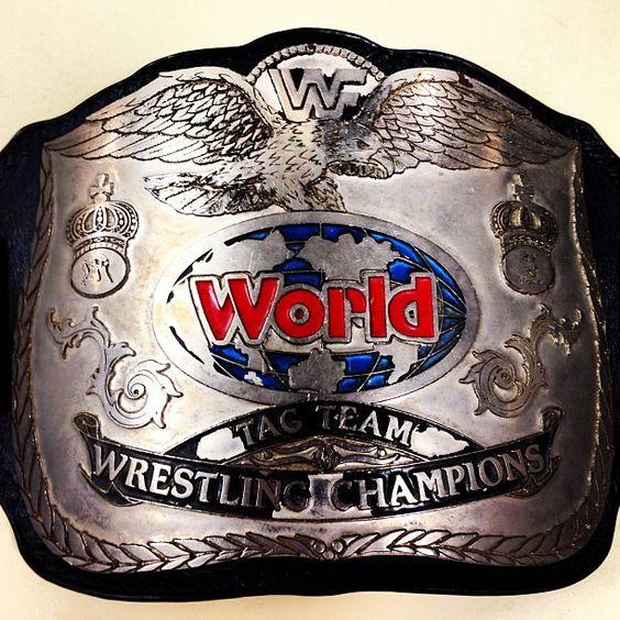 Wwe Tag Team Championship Belt - 87.2KB