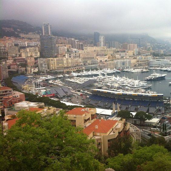 #Rocher Vu sur Monaco du haut du Palais Princier ☀️✌️☺️ by apou_lline from #Montecarlo #Monaco
