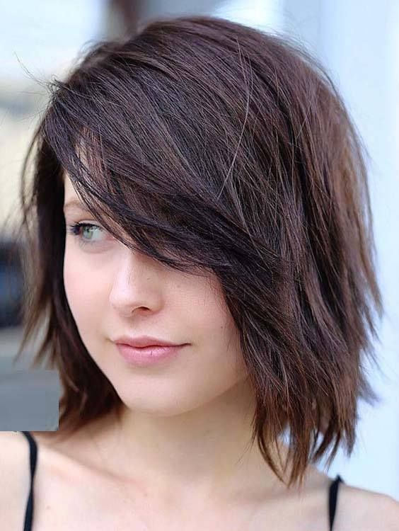 42+ Bob hairstyles with side bangs 2018 ideas in 2021