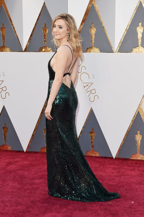 Saoirse Ronan no Oscar 2016: