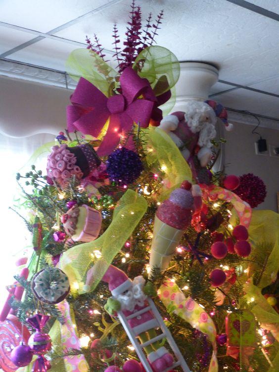 Arbol de navidad de dulces navidad pinterest navidad - Los mejores arboles de navidad decorados ...