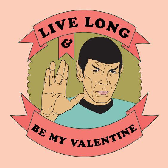 Perfekt Star Trek Valentine