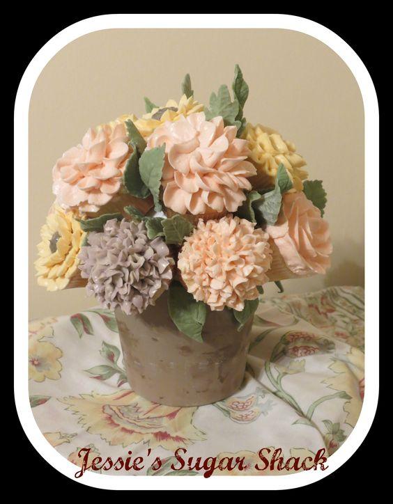 - My Cupcake Bouquet