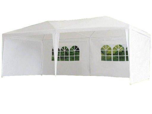 Pawilon Namiot Ogrodowy Bialy 3x6 M 6 Scianek 9433193260 Oficjalne Archiwum Allegro Outdoor Structures Gazebo Outdoor