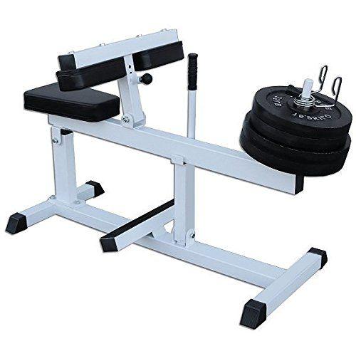 Deltech Fitness Seated Calf Machine Review | Aparatos de gym, Gimnasio en casa, Maquinas de gym